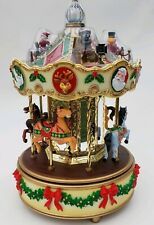 Maisto Holiday Merry Go Round Animated Musical Lighted Working box & adapter