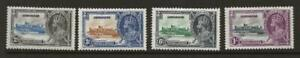 GIBRALTAR 1935 SG114-7 KGV Silver Jubilee Set Fine MINT Cat £32 Omnibus issue