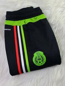 Adidas Mens FEDERATION MEXICANA Clima cool Training Soccer pants (S) RARE NWOT