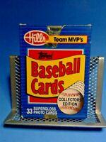 1 Topps Baseball Hills Team MVP Baseball Card Set - 33 Cards - Free Shipping
