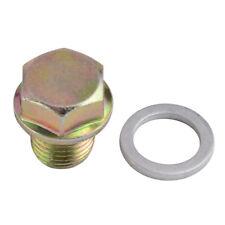 Engine Oil Pan Drain Plug Bolt Kit W/10PCS Crush For Honda Accord CR-V CRX Civic