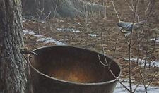 Robert Bateman - Sap Bucket Myrtle Warbler - Limited Edition Print