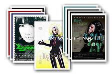 More details for bjork  - 10 promotional posters  collectable postcard set # 1