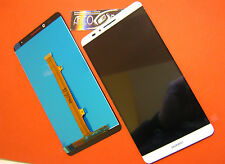 """GLS DISPLAY LCD +TOUCH SCREEN PER HUAWEI ASCEND MATE 7 MT7-TL10 BIANCO 6"""" VETRO"""