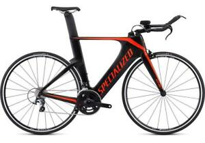 2020 Specialized Shiv Sport SM Black Triathlon Tri Bike Carbon Fiber MSRP $2200