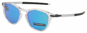 Oakley Pitchman R Sunglasses OO9439-0450 Polished Clear Prizm Sapphire Lens