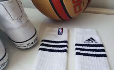 Adidas NBA '80s White Tube Socks - Lads Mens Basketball & Skater Socks - Rare!