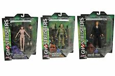 "DIAMOND SELECT Ghost busters SERIES 4 FULL SET 7"" figures with diorama MIP"