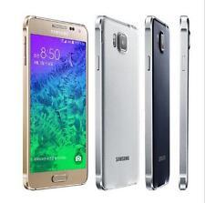 Original Unlocked Samsung Galaxy Alpha G850F G850A Quad Core 12MP 32GB 4.7 in