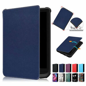 Folio Leather Stand Smart Case Cover For PocketBook Touch Lux 4 /Basic Lux 2 627