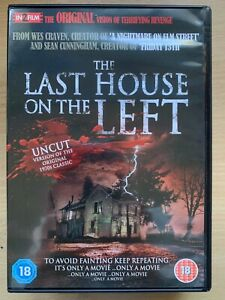 Last House on the Left DVD 1972 Wes Craven Horror Uncut DPP Video Nasty Classic