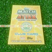 12/13 SPL STAR PLAYER CLUB BADGE CARD MATCH ATTAX 2012 2013