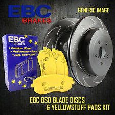 NEW EBC 288mm FRONT BSD PERFORMANCE DISCS AND YELLOWSTUFF PADS KIT PD18KF076
