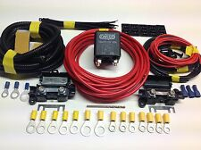 3mtr Split Charge Relay Kit/System With 100amp Relay + Leisure Battery Terminals