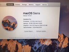 Apple MacBook Pro Core i7-2675QM Quad-Core 2.2GHz 16GB 1Tb HD DVDRW 15.4