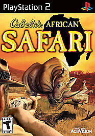Cabela's African Safari (Sony PlayStation 2, 2006) Ps2 Tested