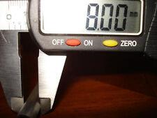 STEEL PRECISION TUBE  8mm OD x 300mm LONG  2mm WALL Mild Steel AISI 1010