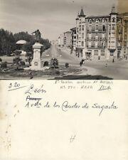 1ª PRUEBA de ARRIBAS. Tarjeta Postal. León. Avenida de los Condes de Sagasta.