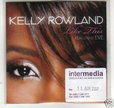 (F937) Kelly Rowland, Like This ft Eve - DJ CD