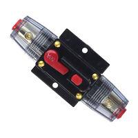 50a 12V DC Ripristino Fusibile Inverter Auto In Linea Reset Manuale