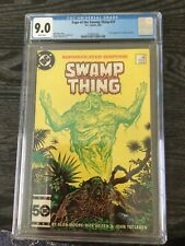 saga of swamp thing 37 cgc White Pages 9.0!!!!!!!!!!!