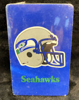 Vintage NFL PLAYING CARDS Sealed Seahawks
