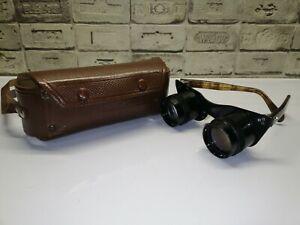 """Binocular glasses """"Kazan"""" KOMZ USSR 2.5x30  Very Rare"""