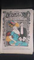 Rivista Jeans Che Rit N° 334 1907 Giornale Illustre che Appaiono Il Venerdì ABE