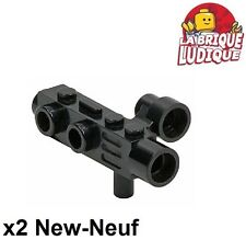 Lego - 2x Minifig utensil appareil photo camera space gun noir/black 4360 NEUF