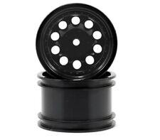 "RPM 82232 Revolver 2.2"" Rock Crawler Wheels (2) (Black) (Wide Wheelbase)"