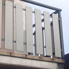 Balkonverkleidung, Zaunlatten, TRESPA, Balkonplatten