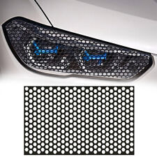 Car Rear Tail Light Cover Black Honeycomb Sticker Tail Lamp Decal Accessories Fits 2009 Hyundai Santa Fe