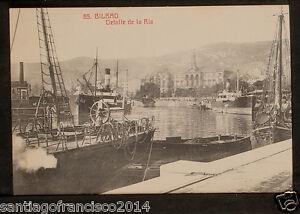 2218.-BILBAO -65 Detalle de la Ría.