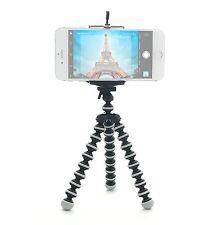 2 Pack For Camera & Phone Portable Mini Flexible Tripod Octopus Stand Gorillapod