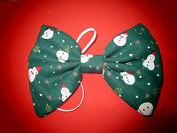 Christmas Waistcoat Green With Snowmen Fancy Dress Mens Ladies S M L