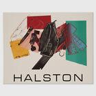 Andy Warhol Rare Vintage 1982 Original Halston Men's Wear Poster