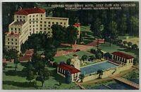 Old VTG Postcard General Oglethorpe Hotel Wilmington Island, Savannah, Georgia
