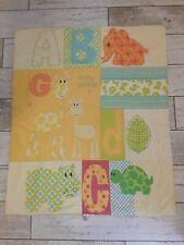 Mothercare unisex giraffe ABC toddler duvet 4 tog