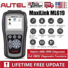 Autel ML619 Car ABS SRS Airbag OBD2 Diagnostic Scanner Code Reader AL619 ML629
