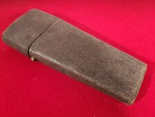 LATE GEORGIAN DARK GREEN SHAGREEN COVERED DRAWING CASE WITH CONTENTS c.1815