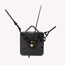 Quartz Clock Movement Mechanism Repair DIY Tool Kit + Black Hands Black Second