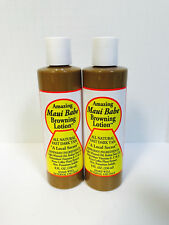 MAUI BABE BROWNING TANNING LOTION - 2 PACK 8oz BOTTLES