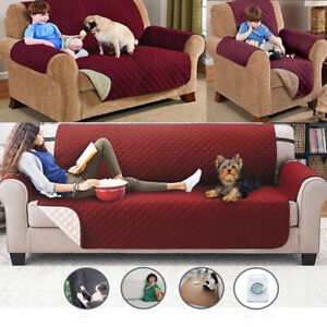 Waterproof Sofa Cover Pet Dog Non-Slip Mat Seater Couch Covers Lounge Protector