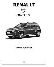 Manuel Atelier Entretien Technique Réparation Maintenance Dacia Duster - Fr