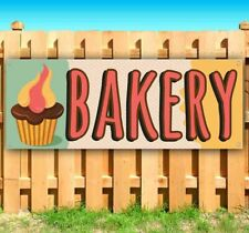 Bakery Advertising Vinyl Banner Flag Sign Many Sizes Bread Biscuts