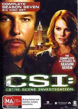 C.S.I CSI Crime Scene Investigation SEASON 7 : NEW DVD
