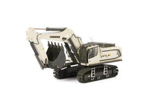 """WSI 04-1156 Liebherr R 970 SME Excavator """"WHITE"""" 1:50 NEW"""
