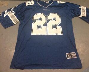 Vintage Dallas Cowboys Emmitt Smith #22 Starter Jersey Size 52 NFL XXL 2XL