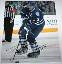 Dion Phaneuf signed Maple Leafs 8x10 photo COA