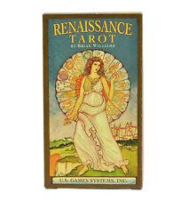 Renaissance Tarot Deck/Cards - Divination, Meditation, Spellcraft, Magick